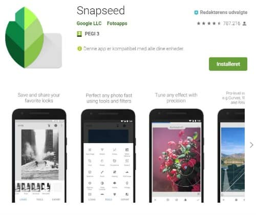 instagram guide for bloggere snapseed